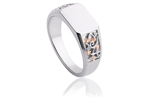 Clogau Tree of Life® Signet Ring 3STLSR