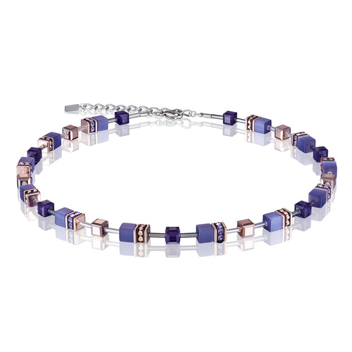 COEUR DE LION GeoCUBE® Necklace - Purple