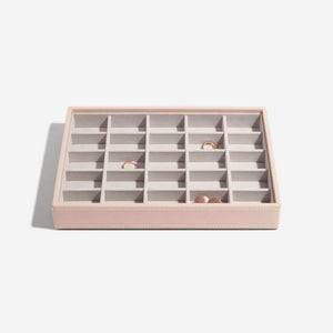 Stackers 25 Section Jewellery Tray Blush