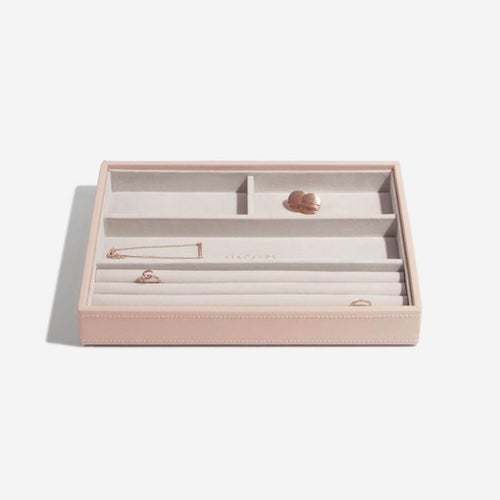 Stackers Ring And Bracelet Jewellery Tray Blush