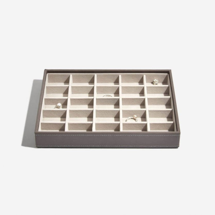 25 Section Mink Stackers Jewellery Tray
