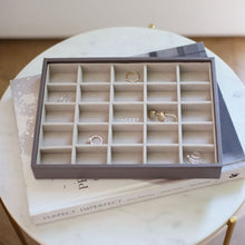Load image into Gallery viewer, 25 Section Mink Stackers Jewellery Tray