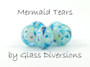 Mermaid Tears frit blend by Glass Diversions