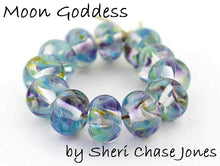 Load image into Gallery viewer, Moon Goddess frit blend by Glass Diversions - beads by Sheri Chase Jones