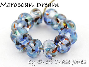 Moroccan Dream by Glass Diversions - beads by Sheri Chase Jones