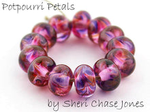Load image into Gallery viewer, Potpourri Petals frit blend by Glass Diversions - beads by Sheri Chase Jones