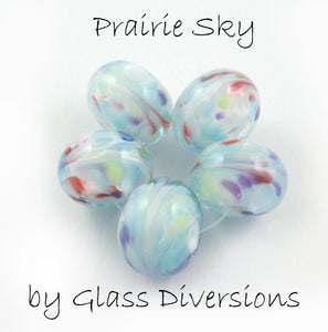 Prairie Sky frit blend by Glass Diversions