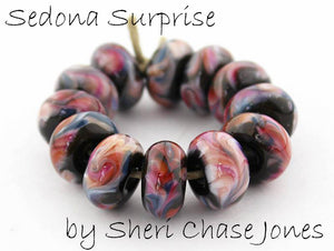 Sedona Surprise by Glass Diversions - beads by Sheri Chase Jones
