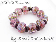 Load image into Gallery viewer, Va Va Bloom frit blend by Glass Diversions - beads by Sheri Chase Jones