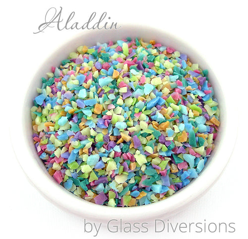 Aladdin frit blend by Glass Diversions