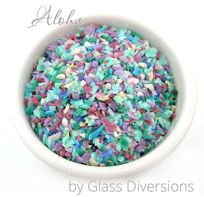 Aloha Frit blend by Glass Diversions