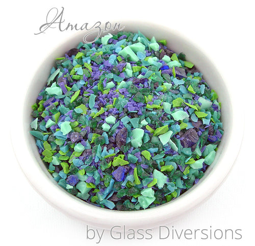 Amazon frit blend by Glass Diversions