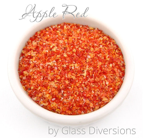 Apple Red Frit Blend by Glass Diversions