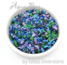 Load image into Gallery viewer, Aqua Bay Frit blend by Glass Diversions