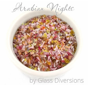 Arabian Nights Frit blend by Glass Diversions