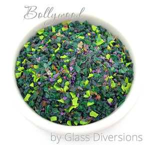 Bollywood Frit blend by Glass Diversions