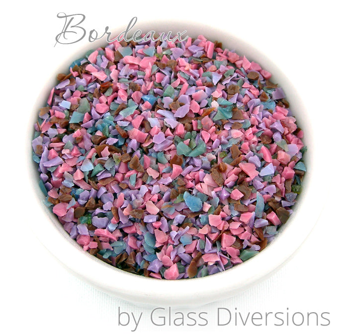 Bordeaux Frit blend by Glass Diversions