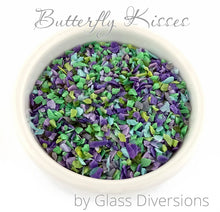 Load image into Gallery viewer, Butterfly Kisses Frit blend by Glass Diversions