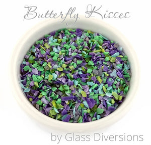 Butterfly Kisses Frit blend by Glass Diversions