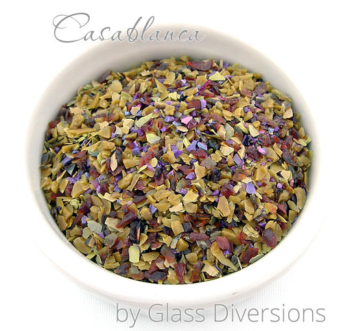 Casablanca Frit blend by Glass Diversions