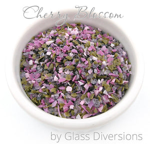 Cherry Blossom Frit blend by Glass Diversions