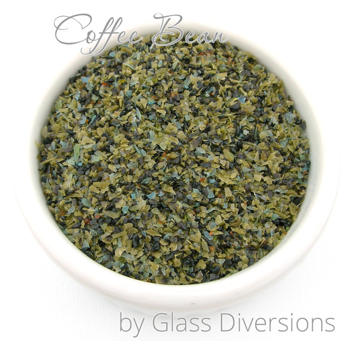Glass Diversions Coffee Bean frit blend