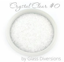 Load image into Gallery viewer, Crystal Clear Frit Size #0 by Glass Diversions