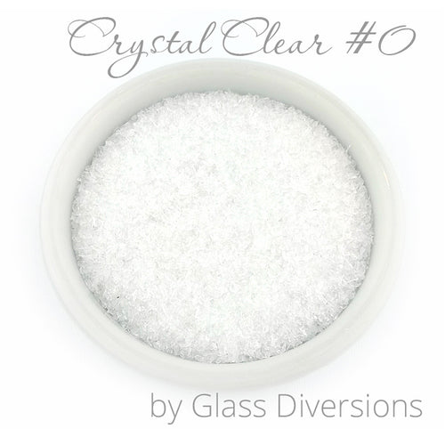 Crystal Clear Frit Size #0 by Glass Diversions