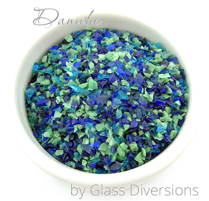 Danube frit blend by Glass Diversions