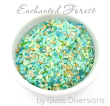 Load image into Gallery viewer, Enchanted Forest frit blend by Glass Diversions