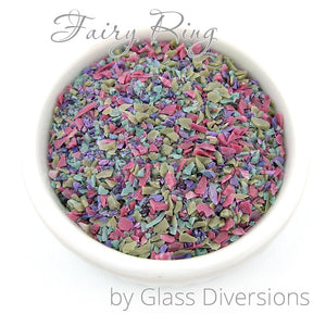 Fairy Ring frit blend by Glass Diversions