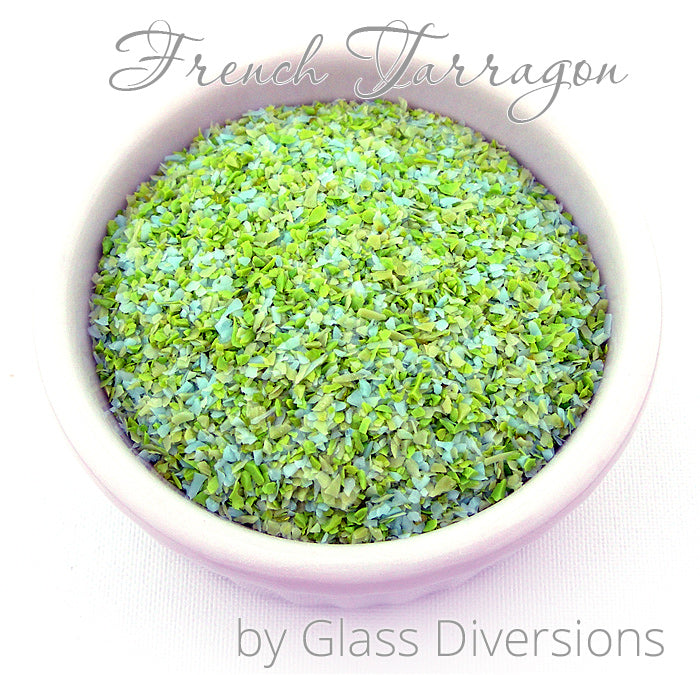 French Tarragon frit blend by Glass Diversions