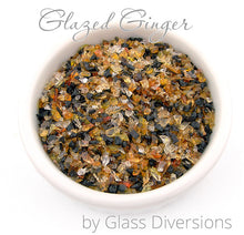Load image into Gallery viewer, Glazed Ginger frit blend by Glass Diversions