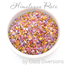 Load image into Gallery viewer, Himalayan Rose frit blend by Glass Diversions