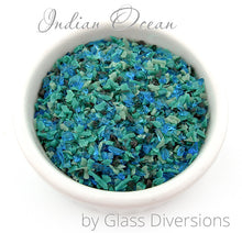 Load image into Gallery viewer, Indian Ocean frit blend by Glass Diversions