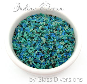 Indian Ocean frit blend by Glass Diversions