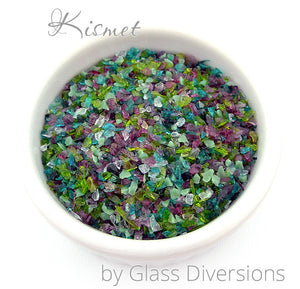 Kismet frit blend by Glass Diversions