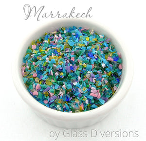 Marrakech frit blend by Glass Diversions