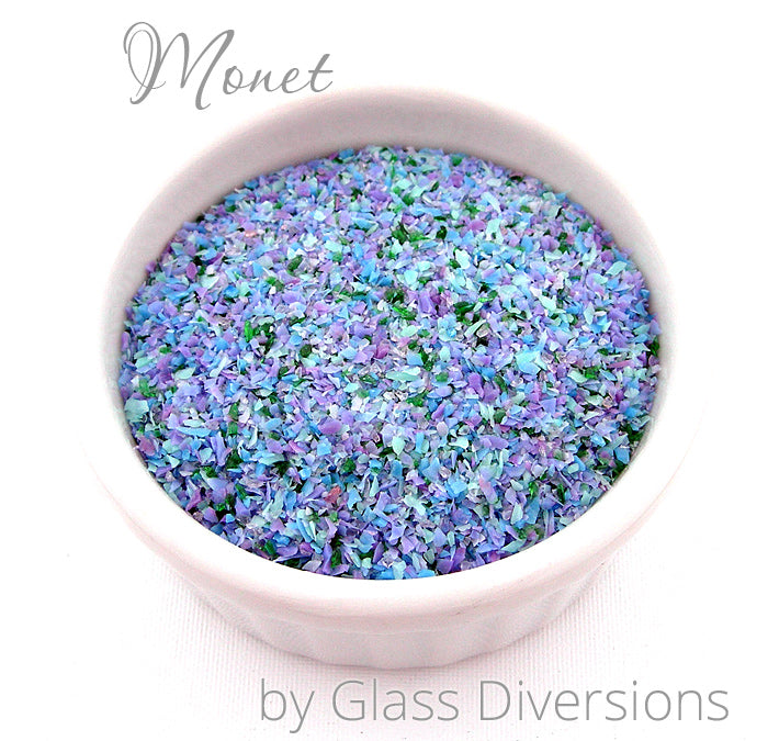 Monet frit blend by Glass Diversions