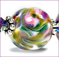 Load image into Gallery viewer, Monet frit blend by Glass Diversions - beads by Kathie Khaladkar