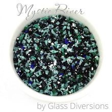 Load image into Gallery viewer, Mystic River frit blend by Glass Diversions