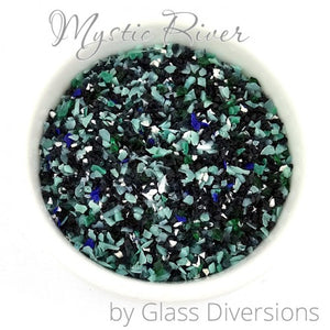 Mystic River frit blend by Glass Diversions