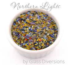 Load image into Gallery viewer, Northern Lights frit blend by Glass Diversions