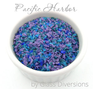 Pacific Harbor frit blend by Glass Diversions