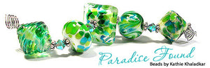 Paradise Found by Glass Diversions - beads by Kathie Khaladkar