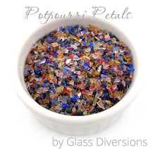 Load image into Gallery viewer, Potpourri Petals frit blend by Glass Diversions