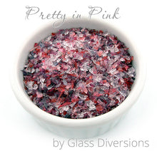 Load image into Gallery viewer, Pretty in Pink frit blend by Glass Diversions