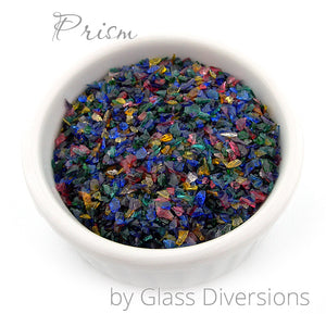Prism frit blend by Glass Diversions
