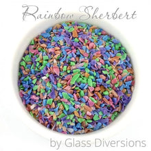 Load image into Gallery viewer, Rainbow Sherbert Frit Blend