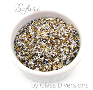 Safari frit blend by Glass Diversions